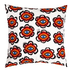 STUNSIG cushion cover, flower eye Length: 65 cm Width: 65 cm