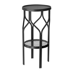 SOMMAR 2018 plant stand, in/outdoor, black