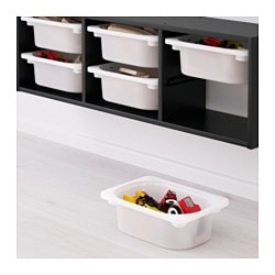 TROFAST Wall storage black white 99x21x30 cm  sc 1 st  Ikea & TROFAST Wall storage black white - 99x21x30 cm - IKEA
