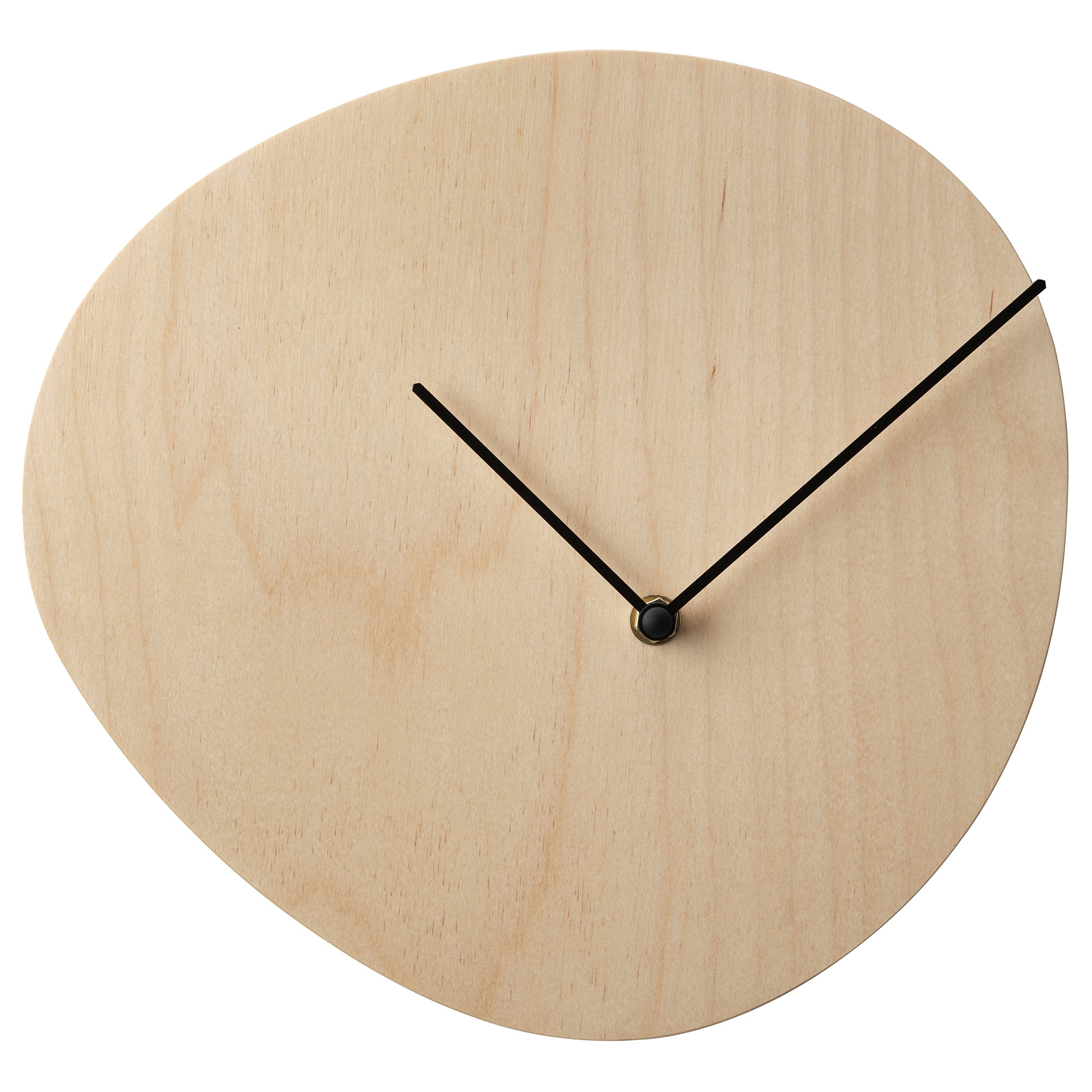 Wall clocks table clocks ikea snajdare wall clock birch plywood gumiabroncs Gallery