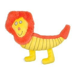SAGOSKATT soft toy, lion Length: 30 cm
