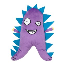 SAGOSKATT soft toy, monster Length: 30 cm