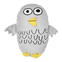 SAGOSKATT soft toy, owl Length: 24 cm