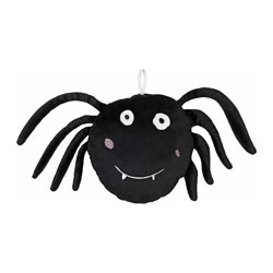 SAGOSKATT soft toy, spider Length: 17 cm