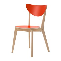 NORDMYRA chair, red