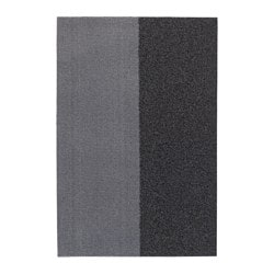 JERSIE door mat, dark grey