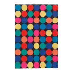 RORSLEV door mat, multicolour