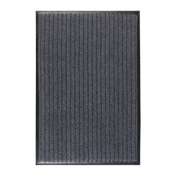 TOREBY door mat, grey