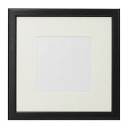 "VIRSERUM frame, dark brown Picture without mat, width: 19 ¾ "" Picture without mat, height: 19 ¾ "" Picture with mat, width: 11 ¾ "" Picture without mat, width: 50 cm Picture without mat, height: 50 cm Picture with mat, width: 30 cm"