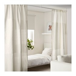 PapyrussÄv Curtain Room Divider White