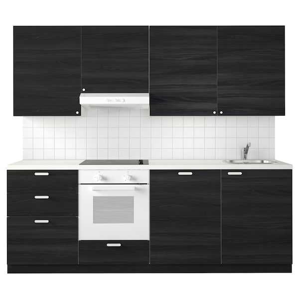 Metod Kitchen White Maximera Tingsryd Black Ikea