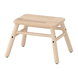 VILTO step stool, birch