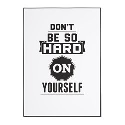 EDELVIK affiche, Don't be so hard
