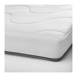 KRUMMELUR foam mattress for cot