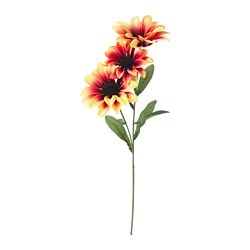 SMYCKA artificial flower, African daisy, yellow