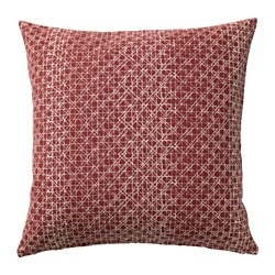 DAGGRUTA cushion cover, red-brown