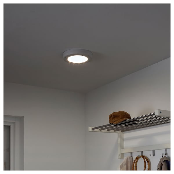 check out b4efe c4aab LED ceiling/wall lamp STÖTTA battery-operated white