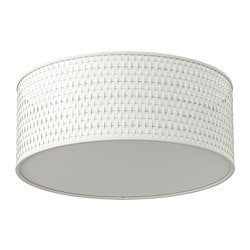ALÄNG, Ceiling lamp, white