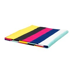 SOMMAR 2018 beach towel, multicolor, dark