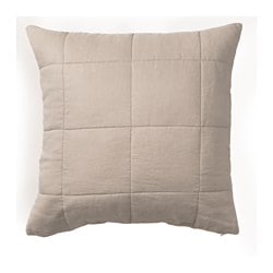 GULVED cushion cover, natural