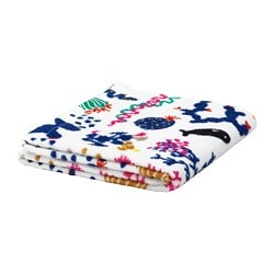 BILLSJÖN hand towel, multicolor