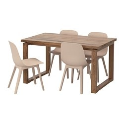 MÖrbylÅnga Odger Table And 4 Chairs