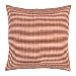 GUNVA cushion cover, red striped Length: 50 cm Width: 50 cm