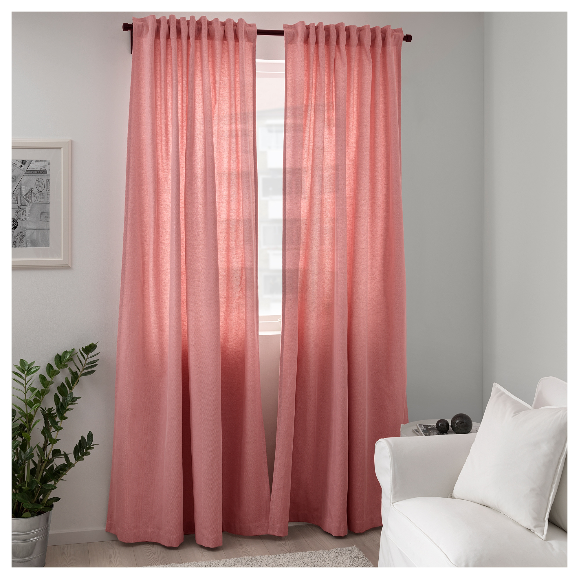 TIBAST Curtains 1 Pair