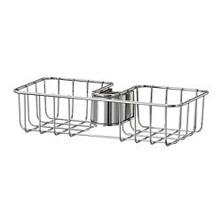 VOXNAN shower shelf, chrome-plated