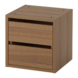 Vadholma Drawer Unit Brown Stained Ash