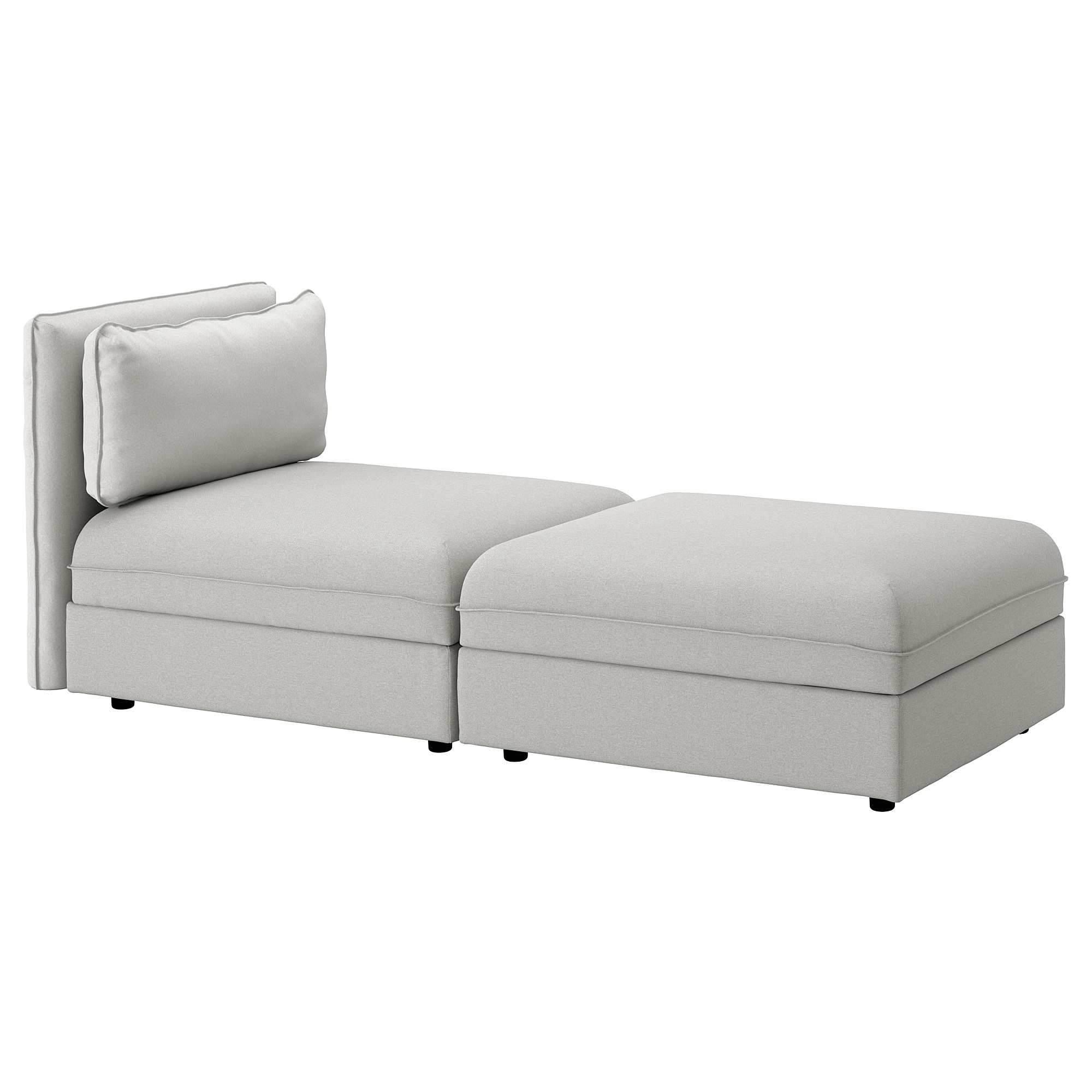 Ikea chaise sofa kivik 3 seat sofa orrsta light grey ikea for Chaise longue ikea
