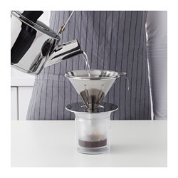Överst Metal Coffee Filter Stainless Steel