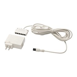 ANSLUTA LED driver with cord, white