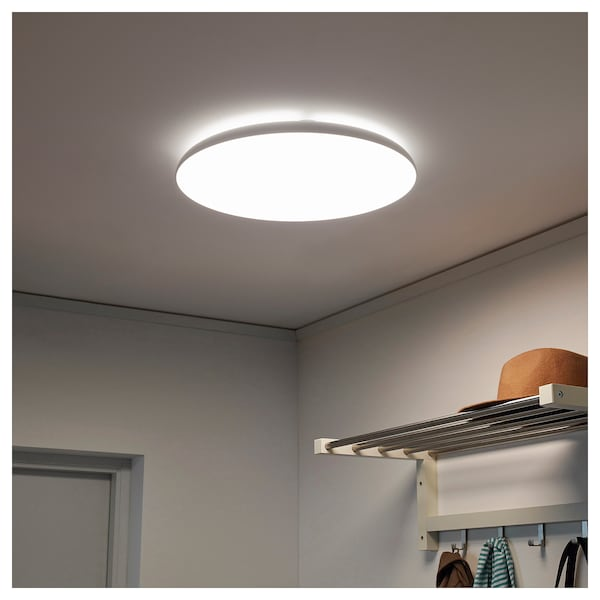 Led Ceiling Lamp NymÅne White