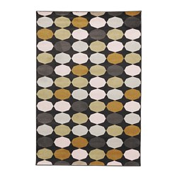 TORRILD rug, low pile, multicolour