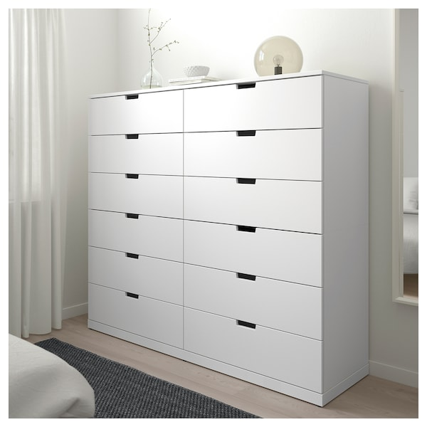 IKEA NORDLI 12-drawer chest