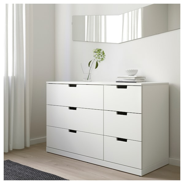 nice shoes 02290 8ddf4 6-drawer dresser NORDLI white