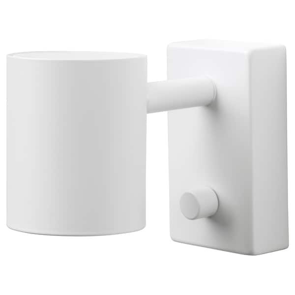 Wall/reading lamp, wired-in inst NYMÅNE white