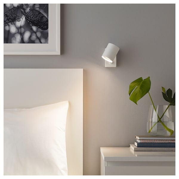IKEA NYMÅNE Wall/reading lamp, wired-in inst