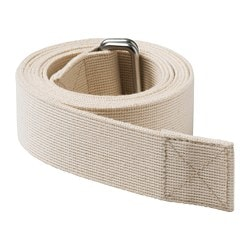 HJÄRTELIG yoga strap, natural