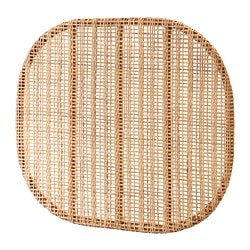 HJÄRTELIG headboard, rattan, wall mounted