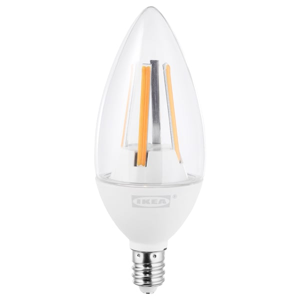Ledare Led Bulb E12 400 Lumen Warm Dimming Dimmable Chandelier Clear