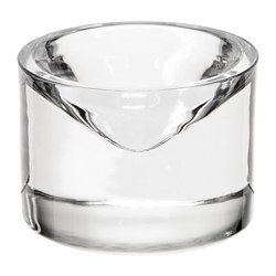 HJÄRTELIG jewelry bowl, clear glass