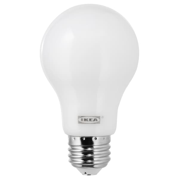 hot sale online 0edc3 4e45e LED bulb E26 600 lumen LEDARE warm dimming dimmable, globe opal