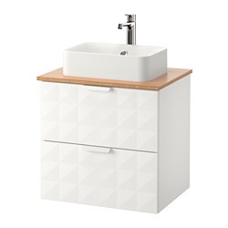 Sink cabinet combinations godmorgon series ikea for Vanite salle de bain ikea