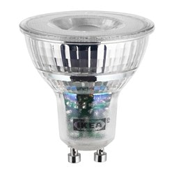 LEDARE LED bulb GU10 400 lumen, warm dimming dimmable