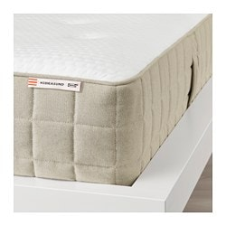 HIDRASUND pocket sprung mattress, firm, natural