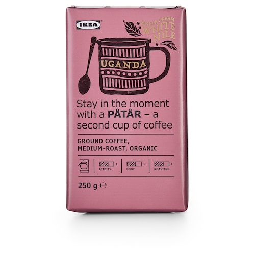 IKEA PÅTÅR Ground coffee, medium roast