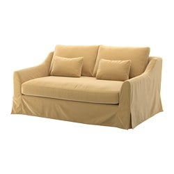 FÄRLÖV, Loveseat, Djuparp yellow-beige