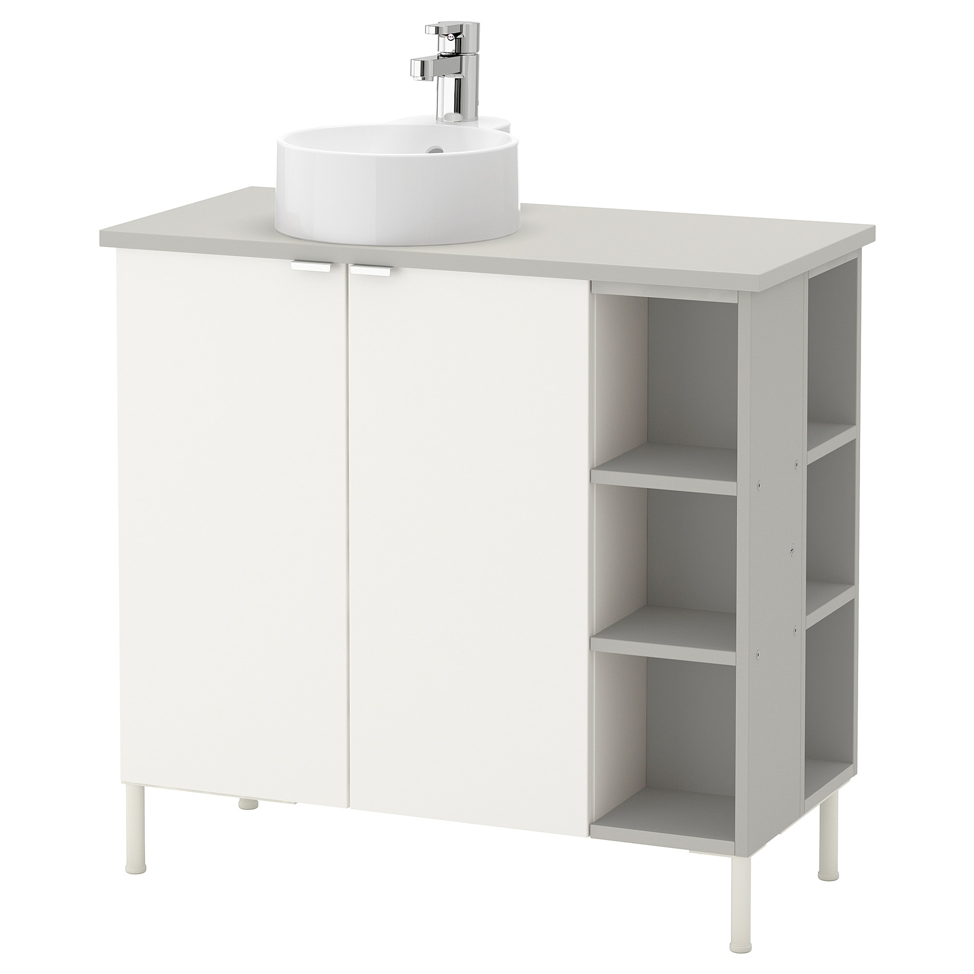 LILLÅNGEN/VISKAN / GUTVIKEN Sink Cabinet/2 Doors/2 End Units